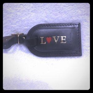 Louis Vuitton 'L❤️VE' Luggage tag 🔥NWOT 🔥 BNIB